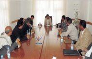 النائب العام يلتقي وكيل نيابة الضرائب والجمارك ومدراء الواجبات بأمانة العاصمة
