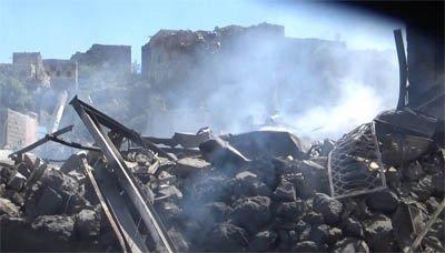 هيئة المدن التاريخية تدين استهداف العدوان المستمر للمعالم التاريخية في اليمن وآخرها قرية وحصن مسار التاريخي