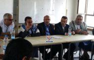 مناقشة خطة توزيع المساعدات الغذائية المقدمة من برنامج الغذاء في إب