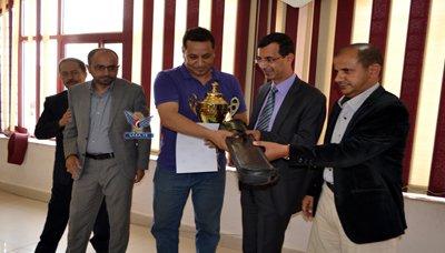 مؤسسة الاتصالات تكرم موظفيها المشاركين في بطولتي الشطرنج والبلياردو