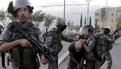 الاحتلال الإسرائيلي يعتقل 38 فلسطينياً من القدس المحتلة