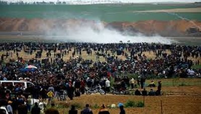 الصحة الفلسطينية: 112 شهيدا و13 ألف إصابة بمسيرات العودة بغزة