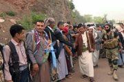 زيارات عيدية للمواقع والنقاط الأمنية في مذيخرة بإب وشرعب بتعز