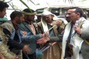 زيارات لوفد من محافظة إب للمرابطين في جبهات لحج وتعز