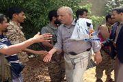 محافظ إب يتفقد أحوال المرابطين في جبهة الساحل الغربي
