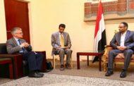 الرئيس المشاط يستقبل المبعوث الخاص لوزارة الخارجية السويدية إلى اليمن