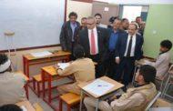 رئيس الوزراء يدشن امتحانات الثانوية العامة