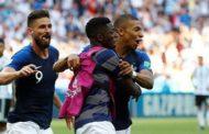 فرنسا تتغلب على الأرجنتين 4-3 في ثمن نهائي كأس العالم في روسيا