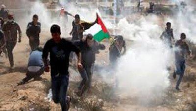 استشهاد طفل فلسطيني وإصابات العشرات برصاص الاحتلال شرق غزة
