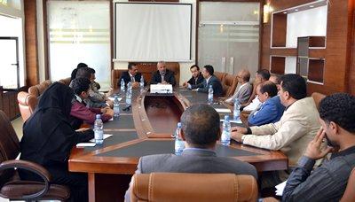 اجتماع برئاسة الجنيد يناقش إعداد خطة مشتركة لحماية المستهلك