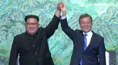 استعادة خط الاتصال العسكري الغربي بين الكوريتين بشكل كامل