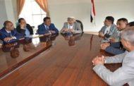 مناقشة مستوى تنفيذ مشاريع النظافة بمحافظة إب