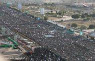 العاصمة صنعاء تشهد احتفال جماهيري حاشد احتفاءً بالمولد النبوي