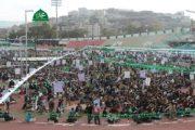 فعالية جماهيرية حاشدة بمحافظة إب إحتفاءً بالمولد النبوي