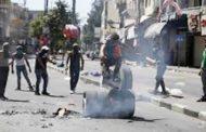 اصابات بالغاز في مواجهات مع الاحتلال الاسرائيلي شمال طولكرم