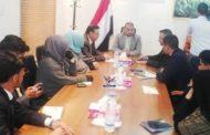 الدكتور مقبولي يلتقي رئيس وأعضاء النادي اليمني للتنسيق مع دول بريكس