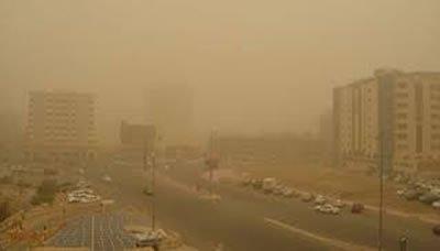 مركز الأرصاد ينبه من آثار موجة الغبار الواسع الانتشار في عدة محافظات