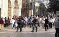 أكثر من مائة مستوطن يقتحمون المسجد الاقصى بالقدس المحتلة
