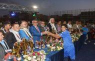 رئيس الوزراء يكرم الأبطال والمبرزين في ملتقى الوحدة الشتوي الثاني