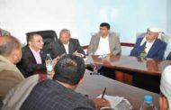 اجتماع موسع برئاسة نائب رئيس الوزراء لشؤون الخدمات يناقش قضايا المياه بإب