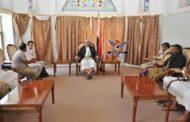 مناقشة أنشطة بعثة منظمة أطباء بلاحدود السويسرية بمحافظة إب