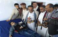 تدشين مخيم طبي مجاني لإستئصال اللوزتين بمديرية يريم في إب