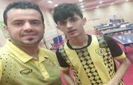 لاعب كرة الطاولة ابراهيم جبران يحتل المركز 49 في التصنيف العالمي للناشئين