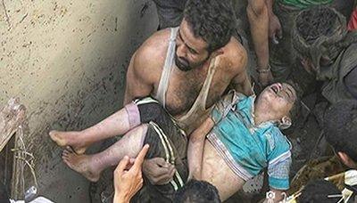 وزارة الصحة: 77 شهيداً وجريحاُ حصيلة غارات طيران العدوان بالعاصمة صنعاء