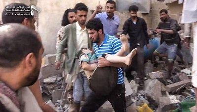 أمسية رمضانية بإب تدين جريمة العدوان بحق المدنيين بالعاصمة صنعاء