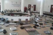 إب : تدشين المرحلة الأولى من قافلة كسوة العيد للمرابطين