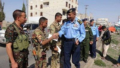 رئيس مصلحة خفر السواحل يزور رجال الأمن في ذمار وإب