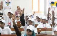 برلمان الأطفال يناقش أوضاع الأطفال النازحين في ظل العدوان