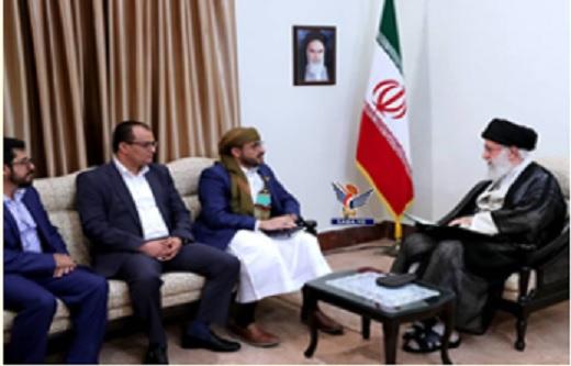 المرشد الأعلى للثورة الإسلامية في إيران يتسلم رسالة خطية من قائد الثورة