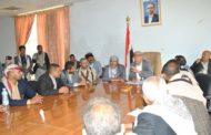 لقاء موسع للتحشيد ورفد الجبهات بمديريات المربع الشماليوالشعر في إب