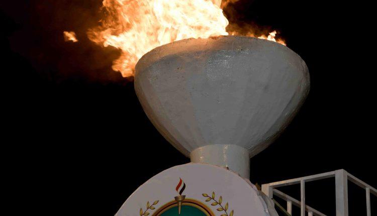 حفل إيقاد شعلة الذكرى الخامسة لثورة 21 سبتمبر بميدان التحرير