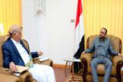 الرئيس المشاط يوجه بالاهتمام بإصلاح الطرق بمحافظة إب