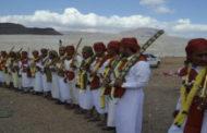114 عريساً وعروساً يحتفلون بإكمال نصف دينهم بمديرية النادرة في إب