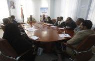 اجتماع لقيادة وزارة الإعلام برئاسة الوزير الشامي