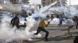 اصابة عدد من الفلسطينيين بالاختناق في مواجهات مع الاحتلال شمال الخليل