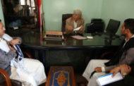 محافظ إب يلتقي فريق المبادرات الشبابية للوقاية من فيروس كورونا