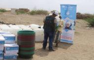 تسليم 90 حقيبة نظافة لمركز الحجر الصحي بإب