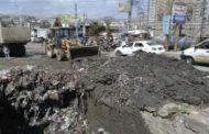 تدشين حملة تنظيف ممرات السيول بمديرية المشنة في إب