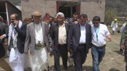 محافظ إب ورئيس هيئة مياه الريف يتفقدان مركز الحجر الصحي بالمحافظة