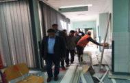 تفقد سير الأداء في مركز الحجز الصحي في إب