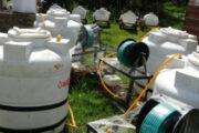مكتب الزراعة بإب يتسلم معدات زراعية ويدشن مشروع الطوارئ