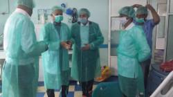 تفقد سير العمل بمستشفيي العدين ومذيخرة في إب