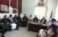 مناقشة الجوانب المتصلة بتعزيز دور الأجهزة الأمنية بمحافظة إب