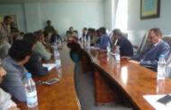 مناقشة أداء مؤسسة المياه والصرف الصحي في إب