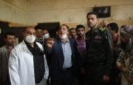 تفقد أوضاع نزلاء السجن الاحتياطي في إب
