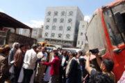 مقبولي وصلاح يزوران الورشة المركزية التابعة لصندوق النظافة بإب